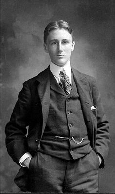 1bohemian:  Franklin Delanore Roosevelt in 1900