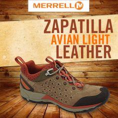#Zapatillas #Merrell #Avian #Light #Leather
