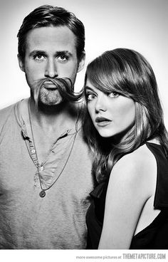 Mr. Gosling and Miss Stone… two of my favorites
