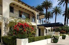 Hotel Oceana Santa Barbara (Santa Barbara, California) - For Hollister Ranch surf trip Santa Barbara Beach Hotels, Downtown Santa Barbara, Santa Barbara California, Hotel California, California Coast, Look Here, Spanish Style, Outdoor Pool, Vacation Spots