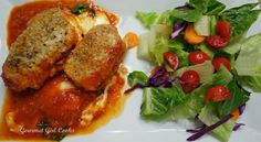 """Gourmet Girl Cooks: String Cheese Chicken Roulade -- Simple """"Grain-free Gourmet"""""""