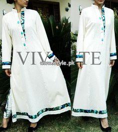 Vivante Women Pakistani Girls Clothes 2013 For Summer 010 Pakistani Dresses, Indian Dresses, Indian Outfits, Salwar Pattern, Kurti Patterns, Indian Attire, Indian Wear, Kurta Style, Suits For Women