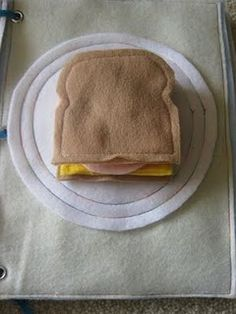 Build a sandwich (from fridge?) page