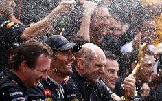 Monaco Grand Prix 2012: Mark Webber celebrates his second street success with…