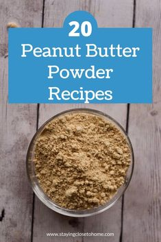 How to use Peanut Butter Powder in many different recipes from Fit cookies to healthy breakfast cookies high protein muffins and cakes. Peanut butter cups and more. Pb2 Recipes, Protein Powder Recipes, Peanut Recipes, Protein Recipes, Protein Foods, Protein Deserts, Peanut Butter Cups, Peanut Butter Oatmeal, Amigurumi