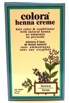 Colora Henna Creme Brown 2 oz. (3-Pack) with Free Nail File * Find out more about the great product at the image link.