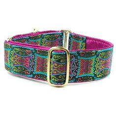 Mandala - Fuchsia Collar from 2 Hounds Designs.