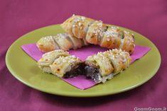 Scopri la ricetta di: Sfogliatine banane e nutella