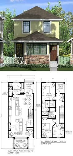 I want two Master Bedrooms on the second floor... just turn those two bedrooms into one, and viola! Perfect privacy for two!