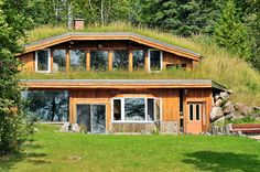 https://flic.kr/p/9j4T3y | Earth Shelter | Hand crafted with original plans in 1987, it is thought that this may be the first of its kind in Canada.