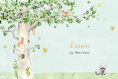 Danksagung Frühlingserwachen by Petite Alma für rosemood.de #Danksagung #Frühling #Tiere