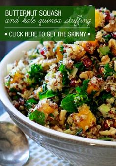 Stuffing.. the healthy way!