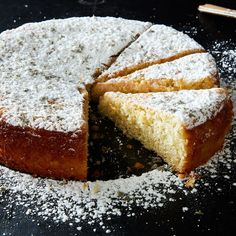 """This Tender Lemon Cake Does """"The Whole Lavender Thing"""" Right on Food52"""