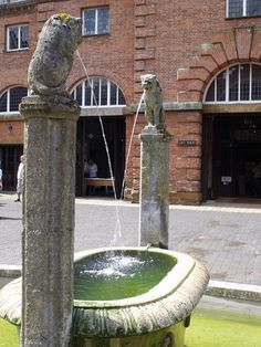Houghton Hall - Stable Square - water feature fountain | Flickr - Photo Sharing! Houghton House, Houghton Hall, Marquess, British Prime Ministers, Stables, Norfolk, Water Features, Fountain, England