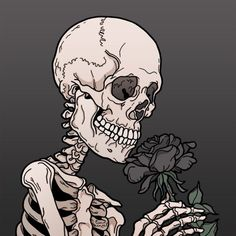 Half portrait + half skull idea with flower and bees surrounding Art Drawings, Art Sketches, Skeleton Art, Anatomy Art, Skull Art, Aesthetic Art, Dark Art, Cute Wallpapers, Art Inspo