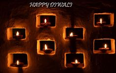 Happy Diwali Diya profile pics