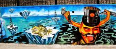 Buenos Aires street art is crying to stop oil drilling