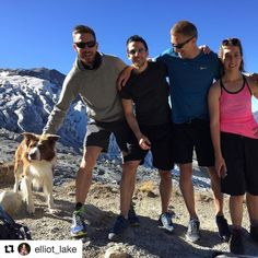 #Repost @elliot_lake with @repostapp  Because we can't let the boys have all the fun! Thanks to the gang for letting me tag along with all the goats   Dream team including Simon & @ge_training @jessrmorley at top of the Ridge @2500m and the incredible #collie Ringo thank you #chamonixhardcross #chamonixmontblanc #chamonix #hiking #hikingadventures #dogstagram #bordercollie