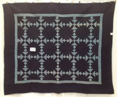 1930s Amish Shoo Fly Antique Quilt