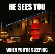 Good luck sleeping with that thing outside your window
