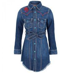 True Religion Western Denim Shirt | . || DENIM SHIRT ...