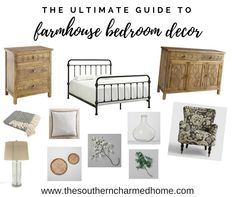 Farmhouse bedroom decor is easy to find with this comprehensive guide filled with farmhouse inspiration. Vintage Farmhouse Decor, Farmhouse Bedroom Decor, Modern Farmhouse Style, Farmhouse Homes, Wall Decor, Decor Ideas, Easy, Inspiration, Home Decor
