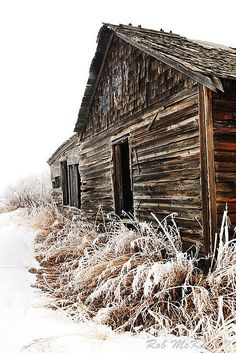 farm houses winter scenes | Abandoned Prairie Farm House Winter Scene Alberta Canada | Flickr ...