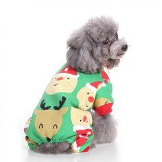 4a0783708bd1f Christmas Elk Dog Cat Cotton Sweater Pet Autumn Winter Coat Clothes Apparel  Kitten Puppy Clothes for Dogs Costume for a cat