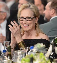 Meryl Streep at the SAG Awards.