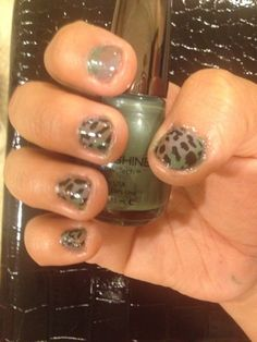 Duck Dynasty, camo, nails, manicure, nail design