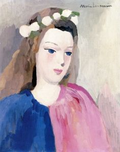 Young Woman - Marie Laurencin - The Athenaeum