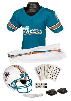NFL Dolphins Uniform Costume Logan Halloween f63cadd0a