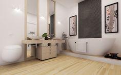 3D Bathroom Architecture Renders. Double Vanity, 3d, Bathroom, Architecture, Washroom, Arquitetura, Full Bath, Bath, Architecture Design