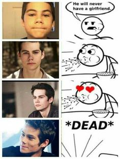 I had a lot of pics of teen wolf memes and my gallery is just all tee… Fanfiction Stiles Teen Wolf, Teen Wolf Boys, Teen Wolf Dylan, Teen Wolf Cast, Teen Wolf Memes, Teen Wolf Quotes, Teen Wolf Funny, Arte Teen Wolf, New Memes