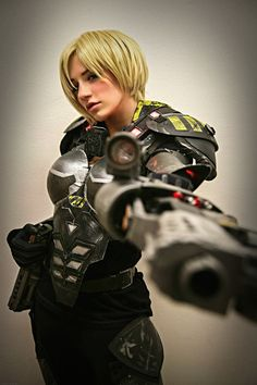 Top Cosplay Of The Week: Sgt. Calhoun from Wreck-It-Ralph | Gaoom