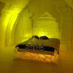 Hotel De Glace in Québec City, Canada | 16 Hotels That Are So Cool You'll Want To Stay Forever