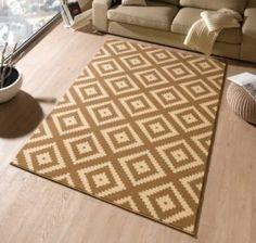 Carpet Hamla in dark brown / beige Hanse Home – carpet stairs Grey Carpet Bedroom, Beige Carpet, Modern Carpet, Sisal Carpet, Rugs On Carpet, Striped Carpets, Indoor Outdoor Carpet, Cost Of Carpet, Textiles