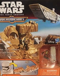 Brand new Star Wars The Force Awakens Micro Machines First Order Stormtrooper Star Wars Toys, Child And Child, First Order, New Movies, Action Figures, Age, Adventure, Collection, Stars