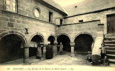 La maison de Marie Stuart à Roscoff (Bretagne)