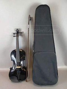 shopgoodwill.com: Crescent Violin with Case
