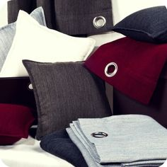 HIGHLAND Collection. Curtains & Pillows