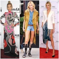 The 21 Best-Dressed Women Right Now - High fashion model, Anja Rubik. She has a supermodel's sense of style—always the perfect mix of leggy sex appeal and casual off-duty.