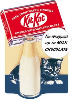 Kit Kat add (vintage)