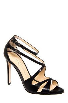 Ivanka Trump Women's Helice Sandal,Black Leather ($137.24)