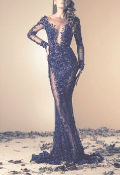 so sexy and sparkly. I want to say Elie Saab...but I'm really not sure.