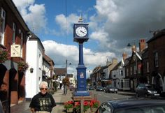 Eccleshall, England.. My ancestors home! Therefore, I will go there one day!! :)