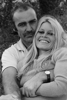 Brigitte Bardot and Sean Connery