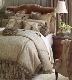 Luxury Designer Bedding odette | Marquise Luxury Bedding by Eastern Accents - Odette Collection