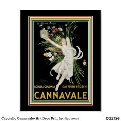 Cappiello Cannavale- Art Deco Print 16 x 20  $16.00