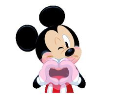 LINE Official Stickers - Mickey Mouse Polite Stickers Example with GIF Animation Mickey Mouse Pictures, Mickey Mouse And Friends, Mickey Minnie Mouse, Disney Pictures, Mickey Mouse Stickers, Baby Name Tattoos, Tattoos With Kids Names, Son Tattoos, Family Tattoos